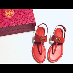 Tory Burch Everly T-strap Flat Sandals